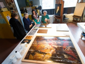 Glance Into World of Art Conservation During Open House