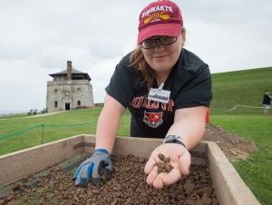 Buffalo State Students Dig Up History at Old Fort Niagara