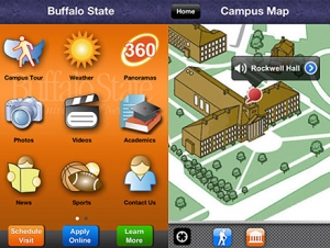 Buffalo State Launches 360 Campus Tour and Mobile App