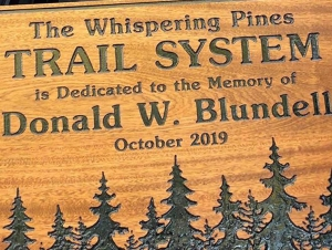 Buffalo State's Rural Oasis Dedicates Trail to the Late Donald Blundell