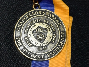 Four Buffalo State Students Receive SUNY Chancellor's Award for Excellence