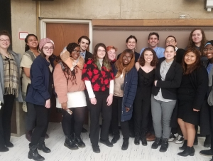 Two Buffalo State Students Win Awards in Regional Mock Trial Tournament