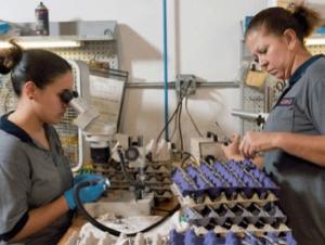 Advanced Manufacturing Certificate Program Graduates First Class