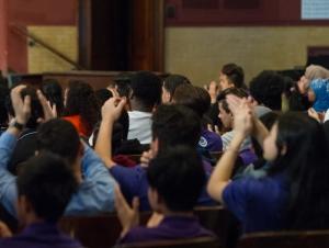 Speakers Encourage Perseverance in At-Risk Teens