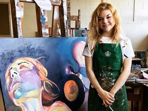 Painting Major Emerges from Medical Crisis with Solo Exhibit