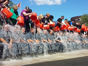 University Police Completes Ice Bucket Challenge