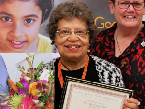 In the News: Alumna Named Volunteer of the Year