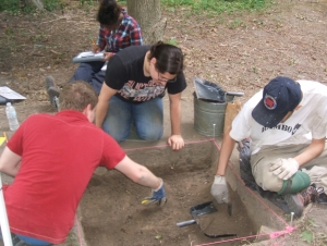 Archaeological Field School Open House at Beaver Island State Park: July 9 and 10