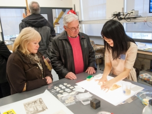 Patricia H. and Richard E. Garman Art Conservation Department Offers Clinic Friday