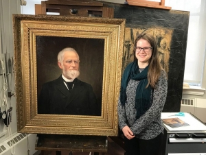 Historian Details Art Conservation Project in News Article