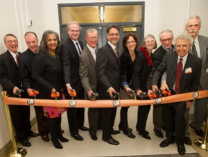 Ribbon-cutting Ceremony Celebrates New Art Conservation Space