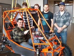 Students Apply Engineering Know-How to Mini Baja Competition