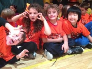 Alumna Teaches First Graders Buffalo State Spirit
