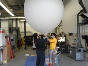 Students Design and Launch Unmanned Spacecraft