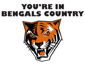 'You're In Bengals Country' Benefits Shoppers, Athletics Fans
