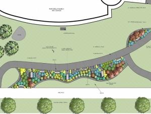 Landscape Design Enhances Front Yard at the Burchfield Penney