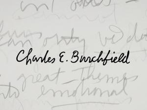 'Richard Kegler, P22 Type Foundry: Charles E. Burchfield (The Font Project)' Opens February 13