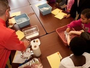 Science Education Courses Bring Aspiring Teachers into Community