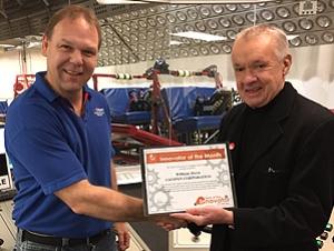 Alumnus Receives Innovation Award