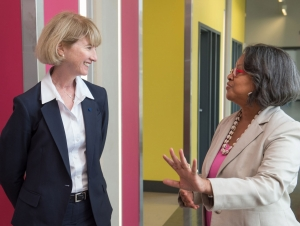 SUNY Chancellor-elect Kristina Johnson Tours Buffalo State