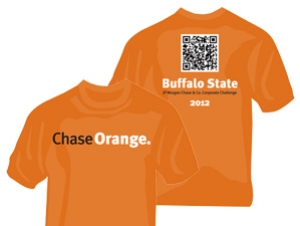 Vote for Buffalo State's Corporate Challenge T-Shirt Design