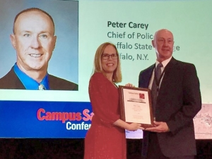 Carey Named Campus Safety Director of the Year