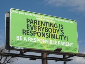Billboards to Help Parents Curb Youth Violence on West Side Unveiled