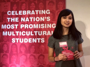Graphic Design Student Named Among Most Promising Multicultural Students