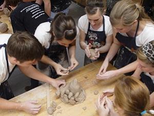 Ceramics Program Hosts Clay Olympics