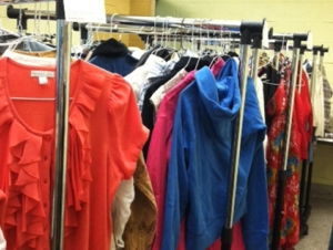 Fashion Students Give Clothing to West Side Residents