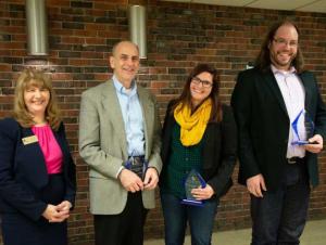 Communication Department Presents Professional Achievement Awards