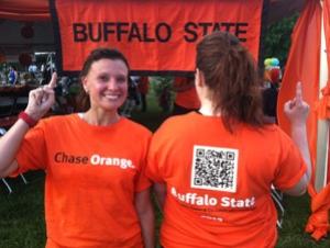 Buffalo State Wins Corporate Challenge T-shirt Design Contest