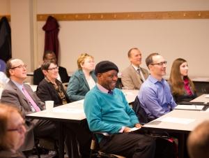 Industry Leaders, University Professors Meet to Discuss Data Analytics