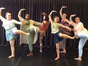 Poetry, Prose Woven into 'Rap' Dance Performance