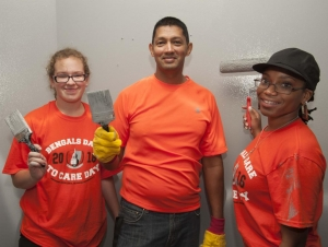 35 Sites Included in Bengals Dare to Care Day
