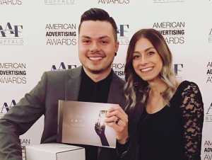 Graphic Design Student Snags Six ADDY Awards