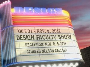 Work of Design Faculty on Exhibit