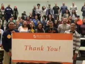 Student Video Gives Thanks to Donors