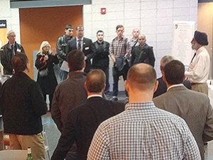 Engineering Technology Hosts Tour for Industry Partners