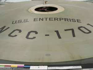 Article Highlights Art Conservation Faculty Contributions to Starship Enterprise Project