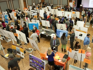 Disciplines Converge at Research and Creativity Fall Forum