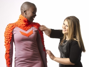 Fashion Student's Dress Design Wins National Contest