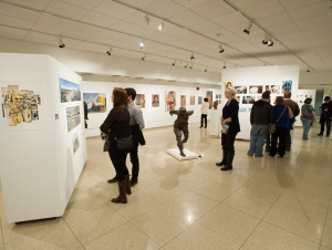 Talented Artists Participate in Fine Arts Student Exhibition