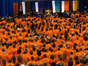 Join Campus for First-Year Convocation, August 20