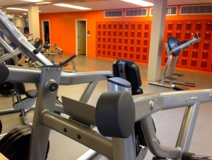 New Fitness Center Gets in Shape