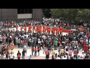 Orientation Flash Mob Video Featured in the New York Times