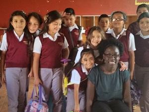 Alumna Teaches Abroad after Graduation