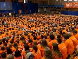 First-Year Convocation Welcomes Students to Buffalo State