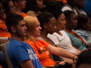 Convocation Extends Warm Welcome to New Students