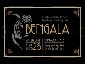 Buffalo State College Foundation Scholarship Gala: April 28